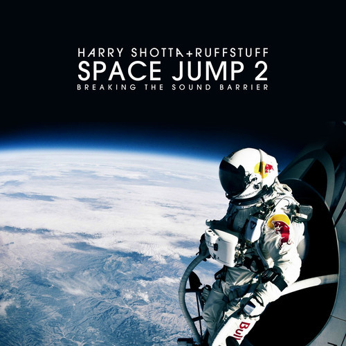 Space jumper looking down to earth.